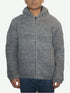 UF 17 Agan Traders Lamb Wool Sherpa Hoodie Sweater Jacket