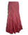 15 WS Women's Rayon Boho Chic Broom Mopping Ruffle Tier Wrap Skirt Maxi - Agan Traders; Burgundy