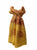 706 Scf Agan Traders Om Spiritual Soft Viscose Shawl Wrap Throw Scarf - Agan Traders, Yellow