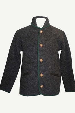 JOSEF Sherpa Lambs Wool Fleece Cardigan Sweater Coat Jacket ~ Petite Size