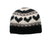 Himalayan Wool Knit Skull Cap Hat - Agan Traders, Black White