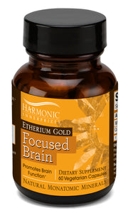 Etherium Gold Improves Brain Balance and Learning Ability By Stimulating Electro-chemical Reactions in the Brain
