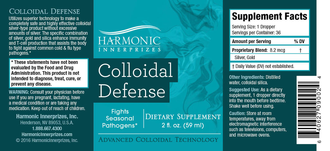 Colloidal Defense