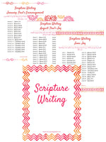 Scripture Writing Prompts - Volume 2 Binder (43 pages)