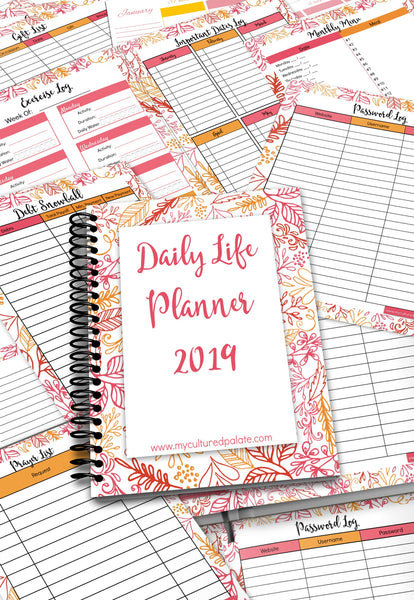 Daily Life Planner {187 pages}