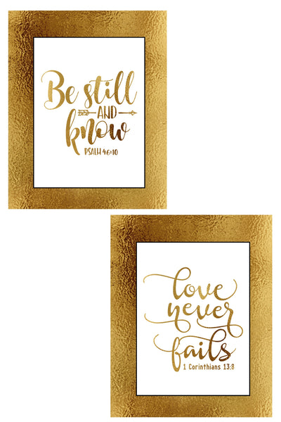 5 Scripture Wall Signs