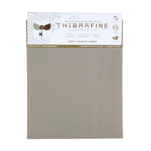 "Thibra Fine - Biodegradable Thermoplastic Sheet (1/16 Sheet - 10.8"" x 13.4"")"