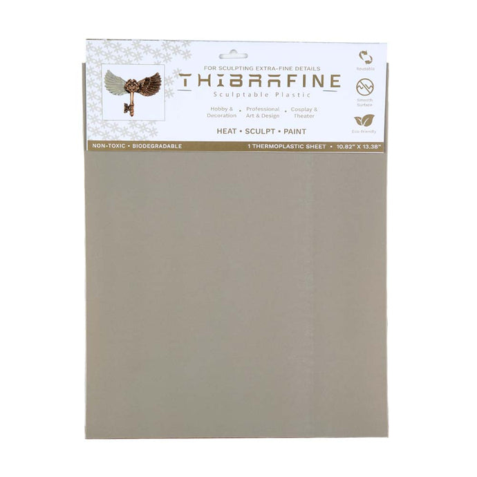 Thibra Fine - Biodegradable Thermoplastic Sheet (1/16 Sheet - 10.8