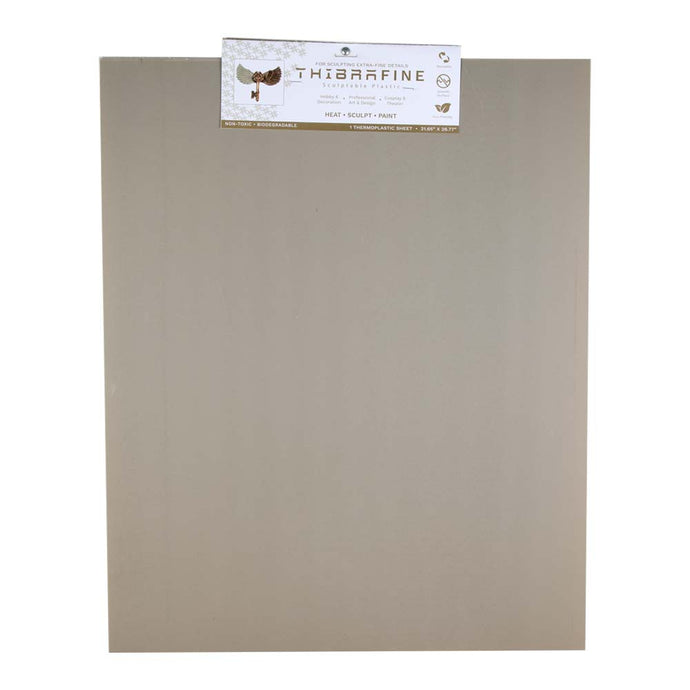 Thibra Fine - Biodegradable Thermoplastic Sheet (Quarter Sheet - 21.6