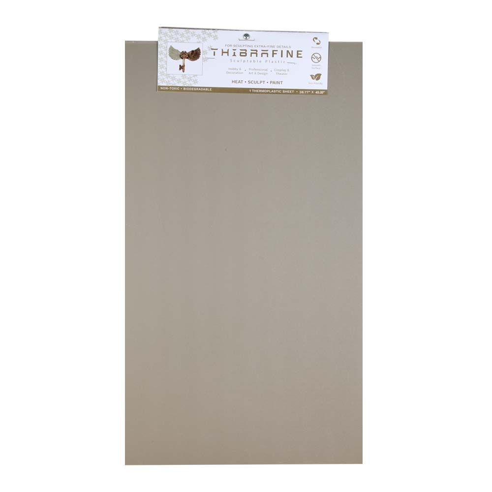 Thibra Fine - Biodegradable Thermoplastic Sheet (Half Sheet - 26.8