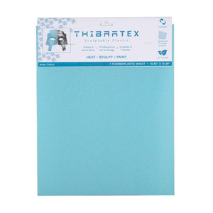 "Thibra Tex - Biodegradable Thermoplastic Sheet (1/16 Sheet - 10.8"" x 13.4"")"