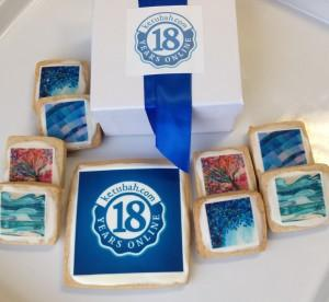 KETUBAH.COM- LOVE FOR OUR CHANNUKAH COOKIES