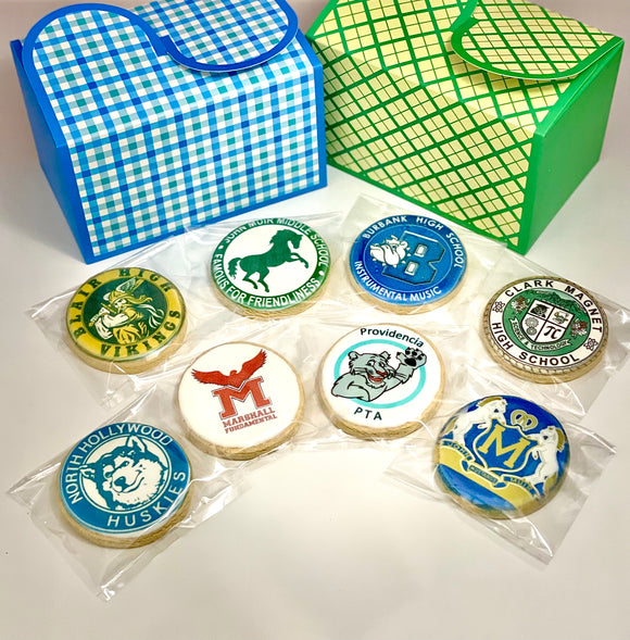 Round Graduation Cookie (Dozen)