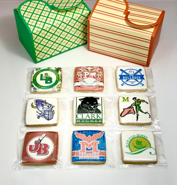 Square Graduation Cookie (Dozen)