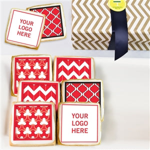 Logo Cookie Red Gift Box - ModernBiteLA