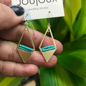 Cali Turquoise Earrings