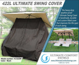 422L Dual Lounge Swing - In Mocha Color (Free Cover Included)