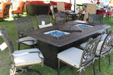 Double Firepit Table Set