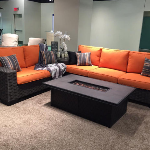 Victoria Sectional Set Ultimate Comfort Swings