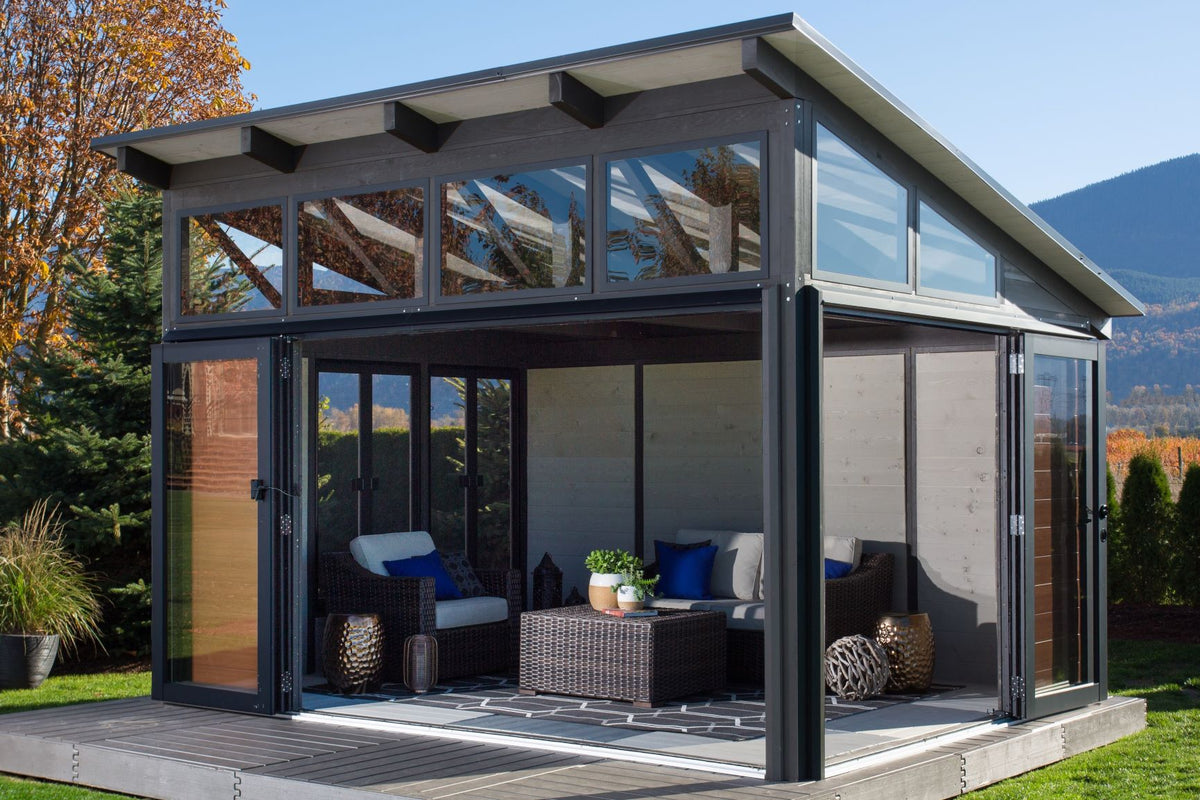 Ultimate Outdoor Living Structure Ultimate Comfort Swings