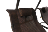 422L Dual Lounge Swing - Factory Color Mocha Includes (Free Custom Cover with purchase)