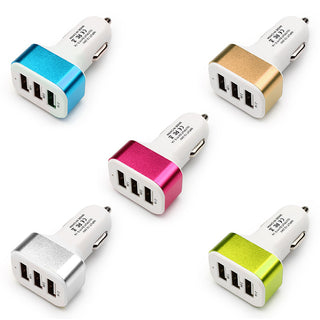 Car Charger 3 Ports