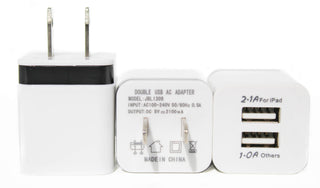USB 2 Ports Wall Charger