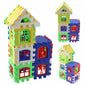 Kids House Building Blocks Set 24 pcs
