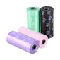 Dog Waste Printed Poop Bag 10 Rolls