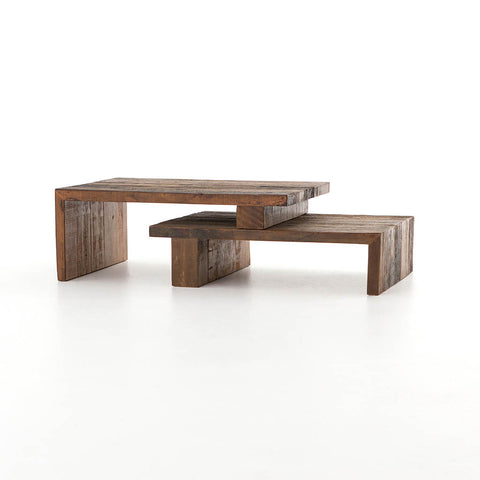 Ferris Contemporary Nesting Coffee Table by Four Hands Furniture