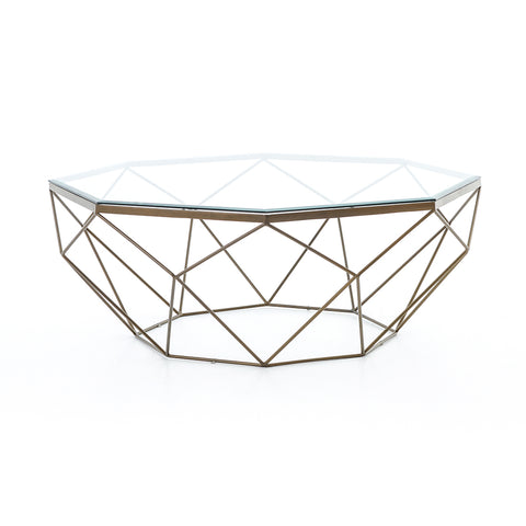 Contemporary Geometric Coffee Table by Four Hands Furniture