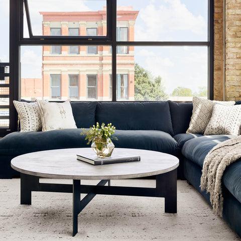 Grant Crypton Sectional Sofa by Four Hands