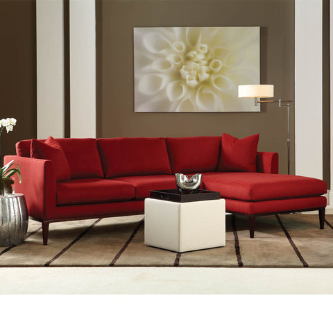 Henley Crypton Sectional Sofa By American Leather