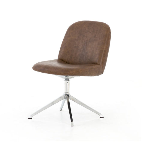 Tyler Desk Chair - Ives White Grey