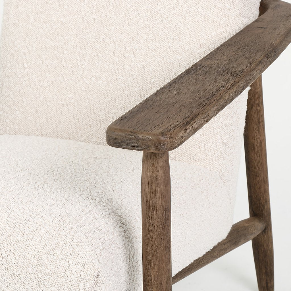 Arnett Chair Knoll Natural CKEN-26271-493198 Four Hands