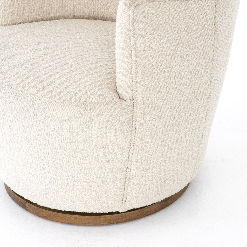 Aurora Barrel Chair - Knoll Natural CPRL-01571-493 Four Hands