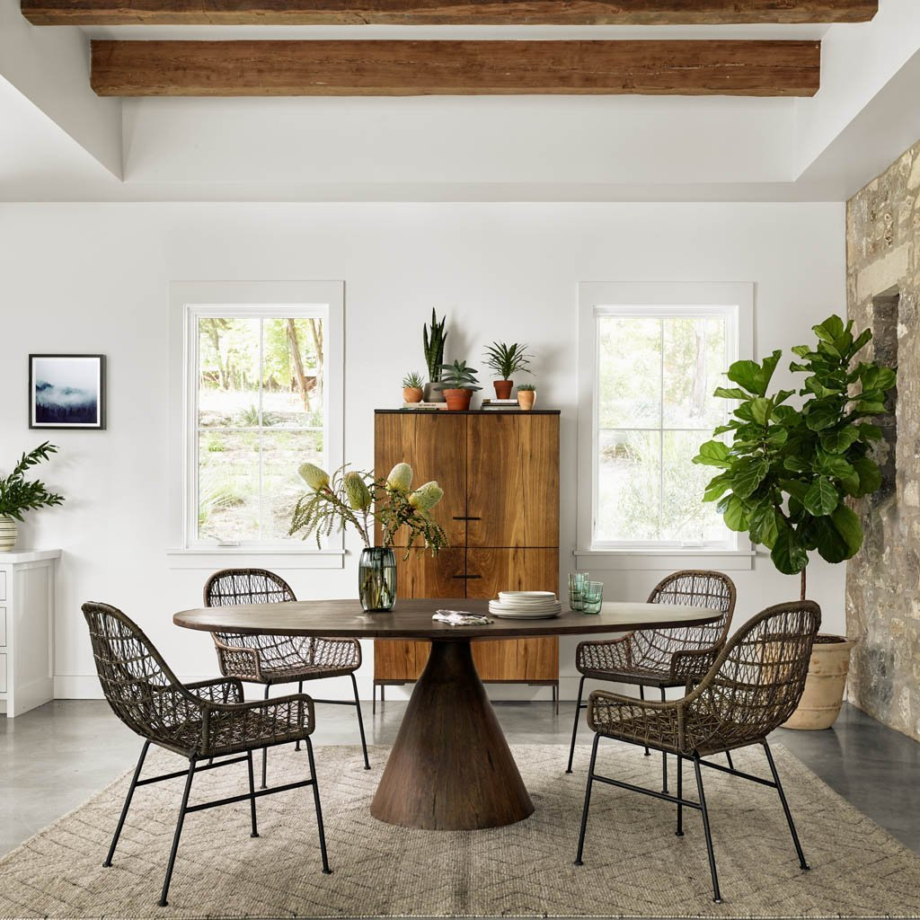 Four Hands Bronx Oval Dining Table
