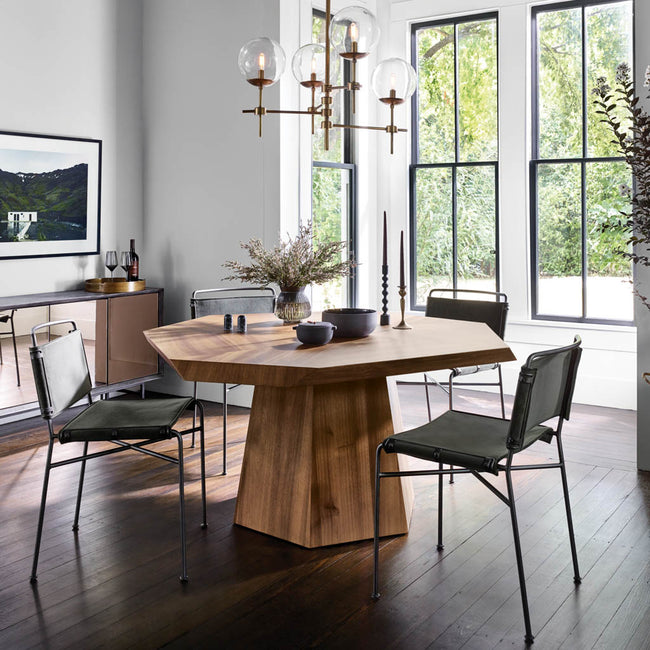 Four Hands Furniture Brooklyn Asymmetrical Dining Table