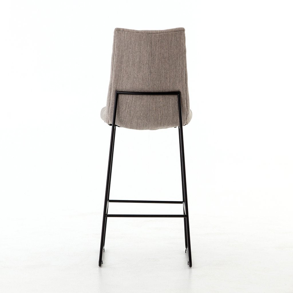 savile upholstered stool
