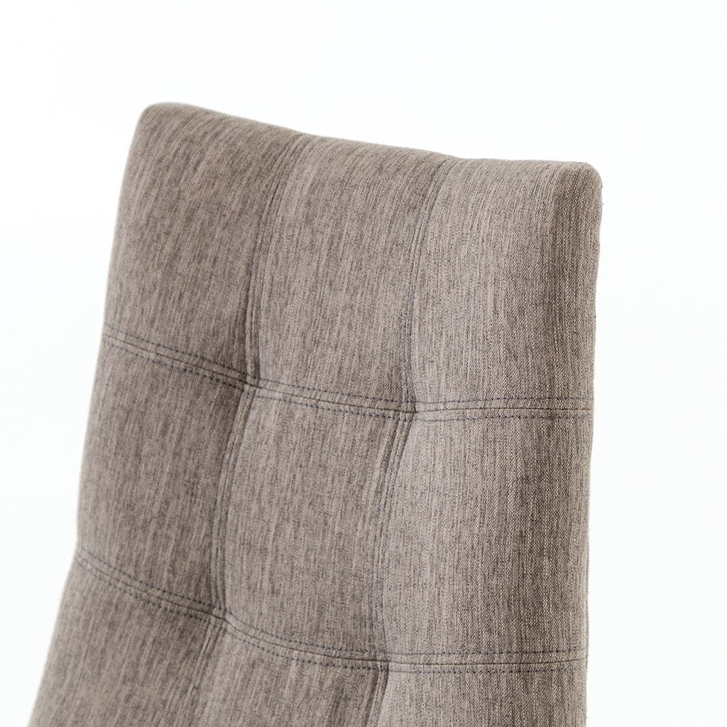 tufted upholstered stool