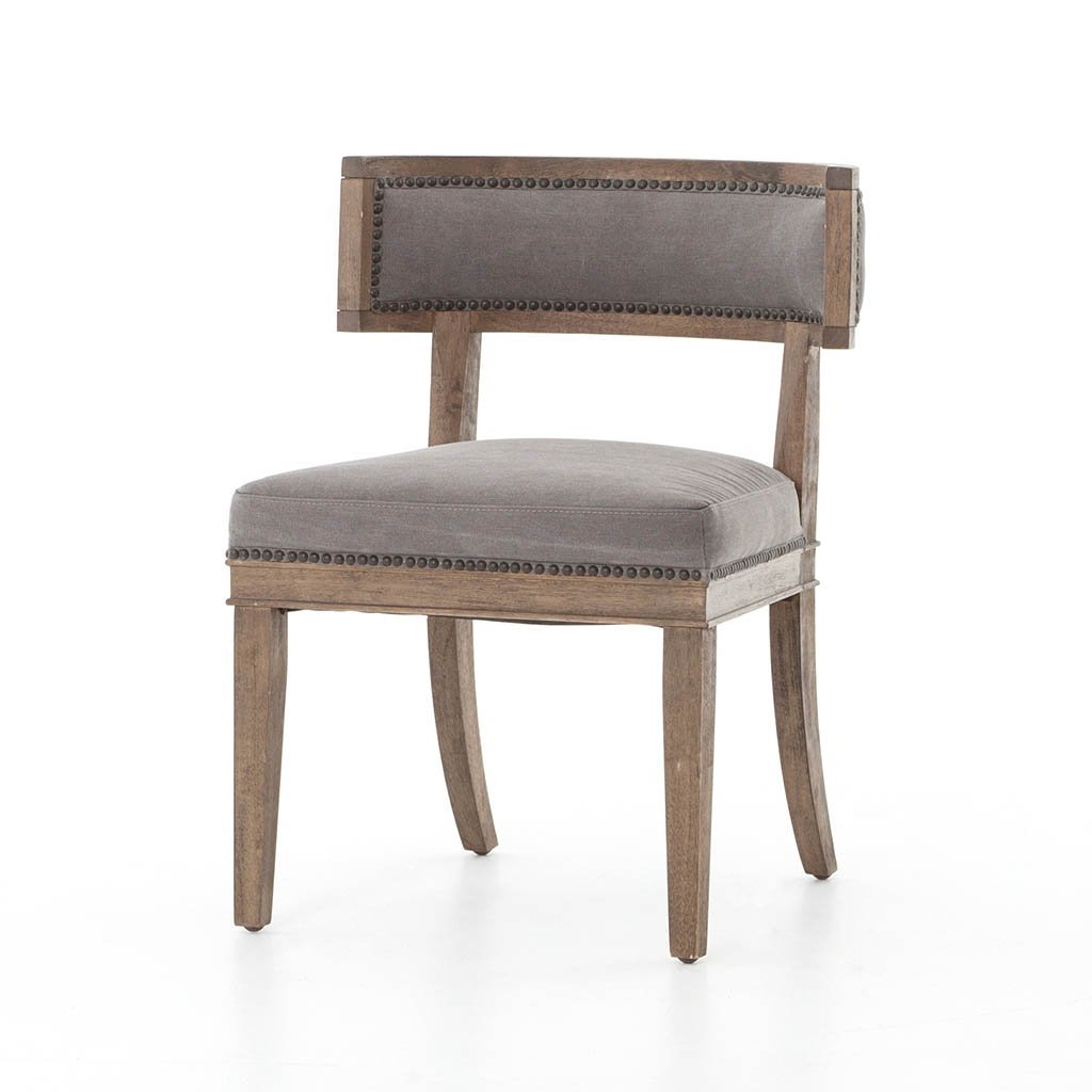 Carter Dining Chair - Dark Moon Canvas