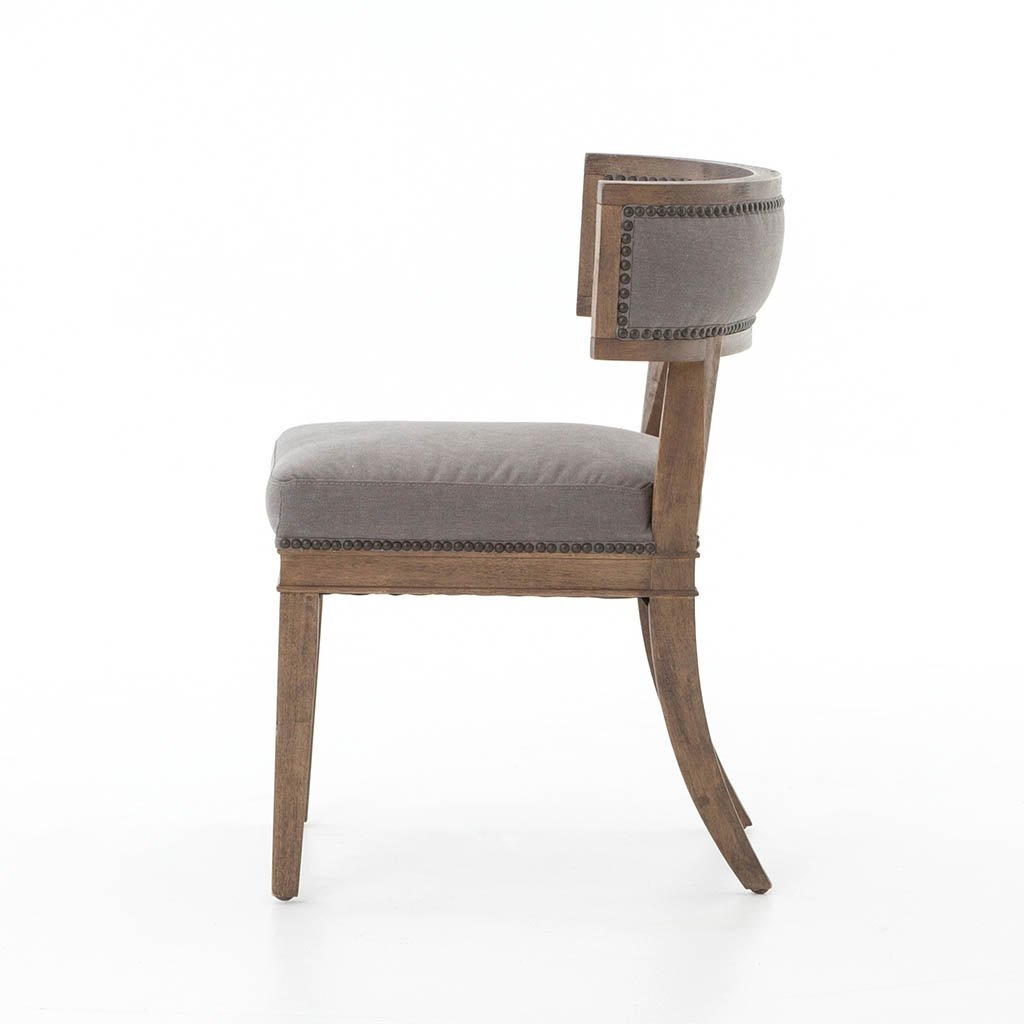 Four Hands Carter Dining Chair - Dark Moon Canvas