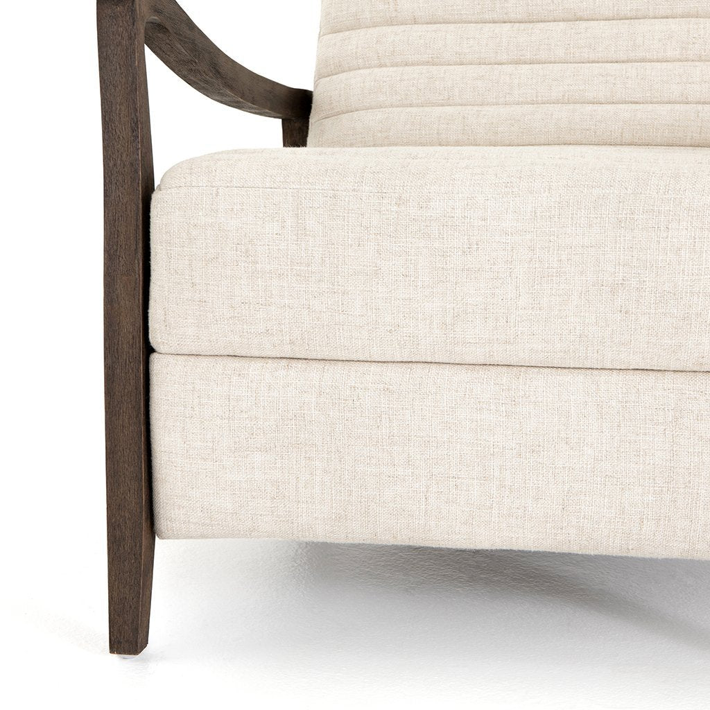 Four Hands Chance Natural Linen Recliner CKEN-17347-188