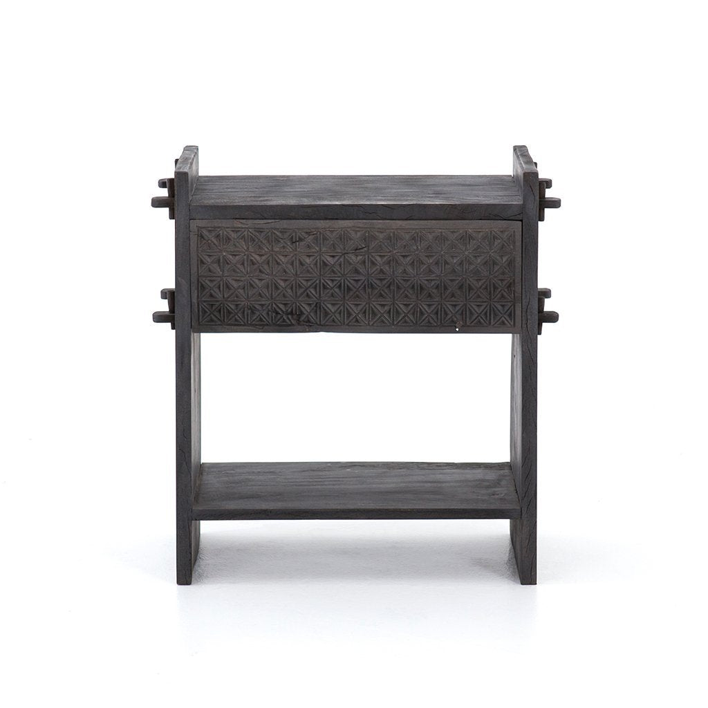 dark grey nightstand