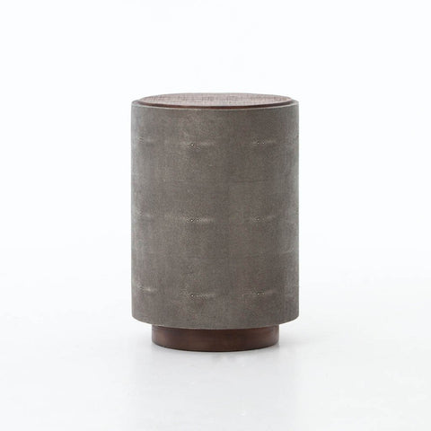 Tulip Side Table - Raw Nickel