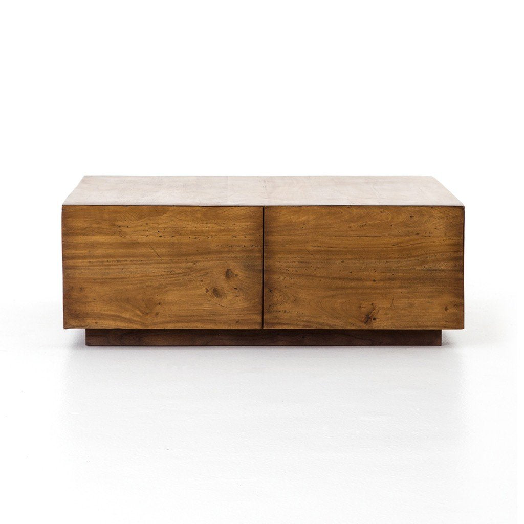 Duncan Storage Coffee Table with hidden drawers