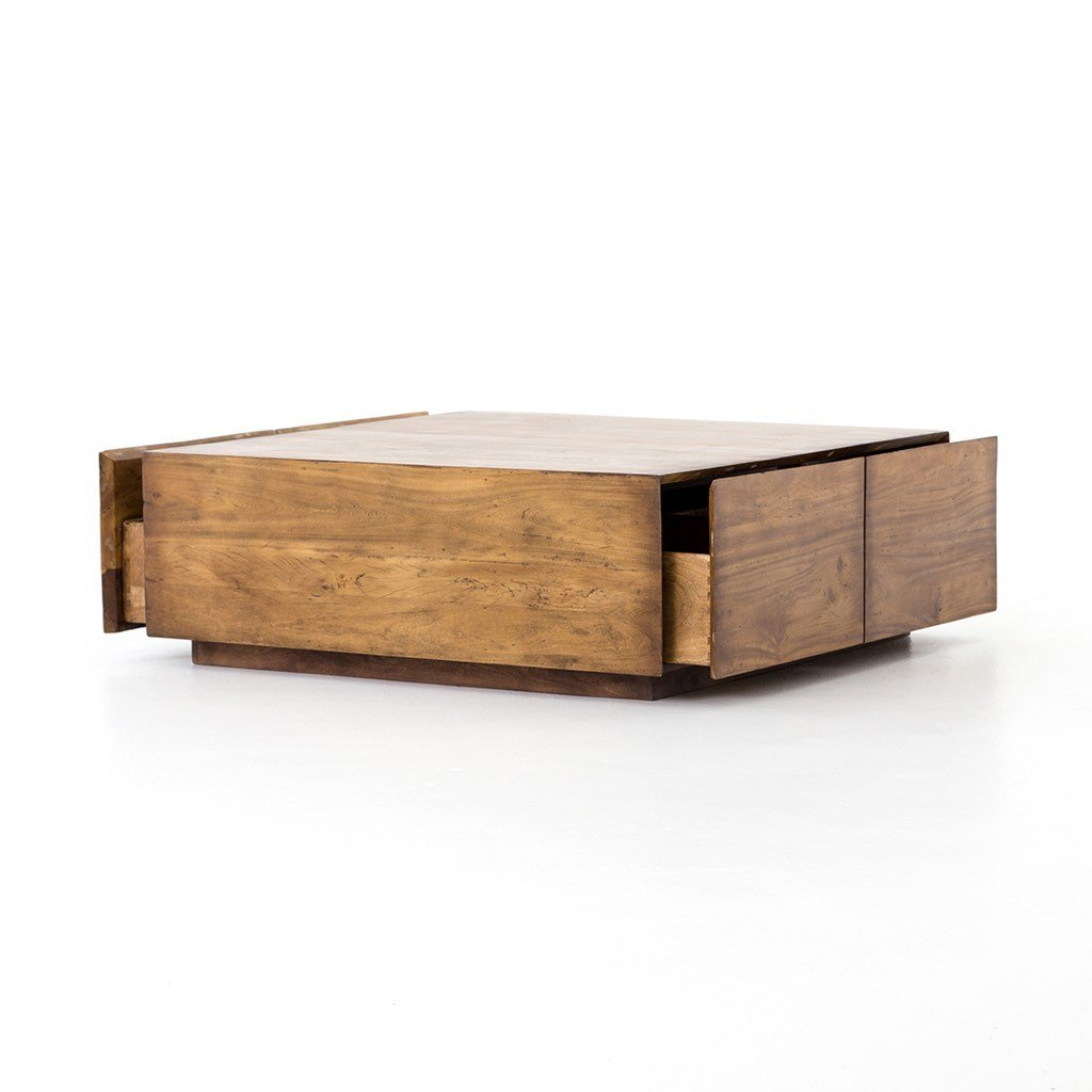 Duncan Storage Coffee Table Square