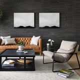 leather accent chair light and modern