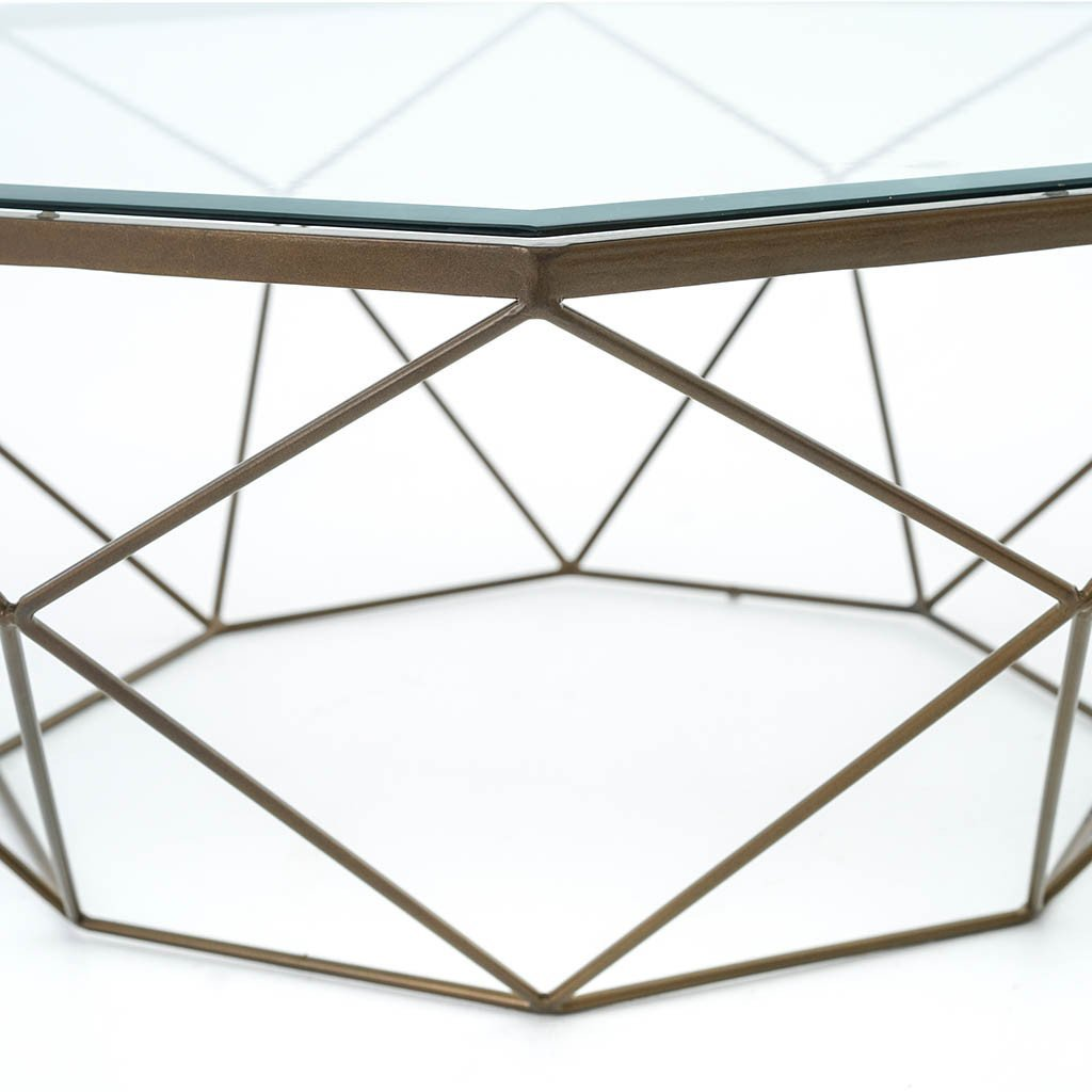 Geometric Coffee Table IMAR-54-BRS