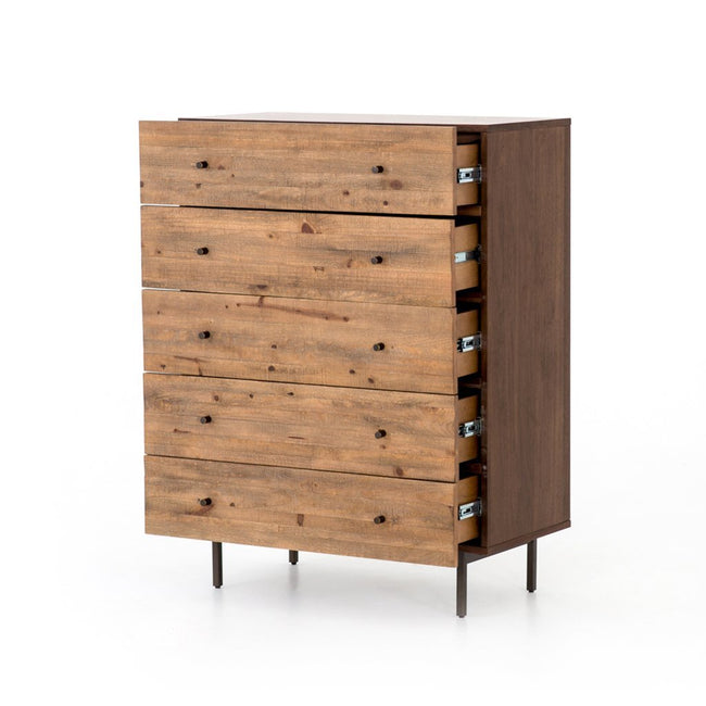 Harlan Five Drawer Dresser Four Hands Furniture VBAR-074